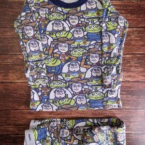 Gap Disney Pixar Toy Story Pajamas Woody Buzz